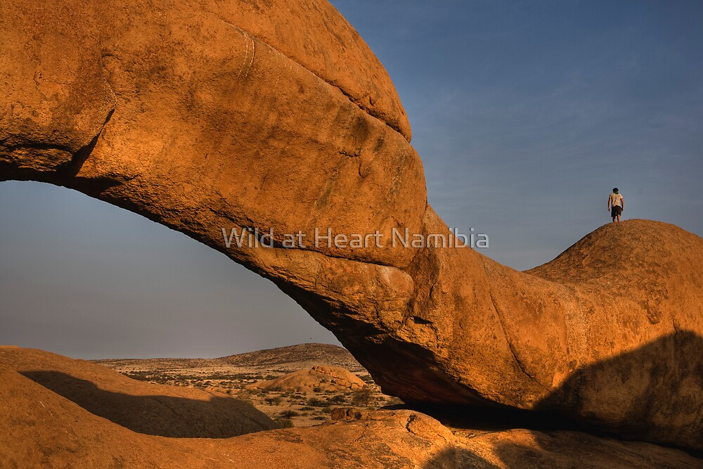 Rock Arch Namibia by Wild at Heart Namibia