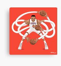 Mr. Triple Double Westbrook  Canvas Print