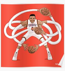 Mr. Triple Double Westbrook  Poster
