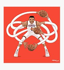 Mr. Triple Double Westbrook  Photographic Print