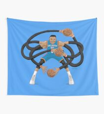 Mr. Triple Double Westbrook  Wall Tapestry