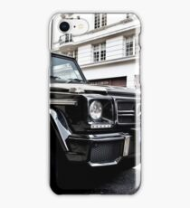 Black Mercedes G-Class iPhone Case/Skin