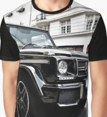 Black Mercedes G-Class Graphic T-Shirt
