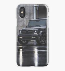 Gray Mercedes G-Class iPhone Case