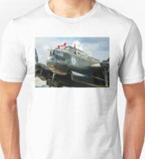 "Avro Lancaster B.X FM213/C-GVRA ""Vera"" nose detail Unisex T-Shirt"