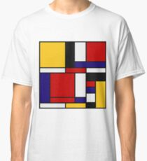 Mondrian De Stijl Art Movement Classic T-Shirt