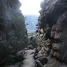 Rocks in Grampians by Wolska