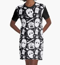 Welcome Campers! Graphic T-Shirt Dress