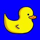 Yellow Ducky by FREDtheALIENpro