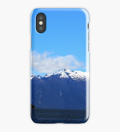 LakeTe Anau and the Mountains iPhone Case/Skin