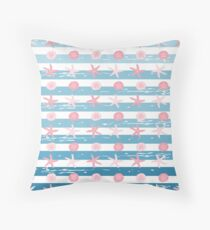 AFE Starfish Pattern Throw Pillow