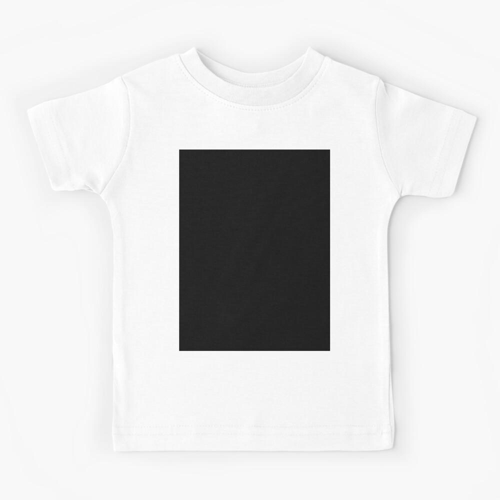 EINFACH SCHWARZ | FEST SCHWARZ | DUNKELSTES SCHWARZES | MONDLOSER HIMMEL | ACCENT SCHWARZ | HÖCHSTVERKAUF SCHWARZ Kinder T-Shirt