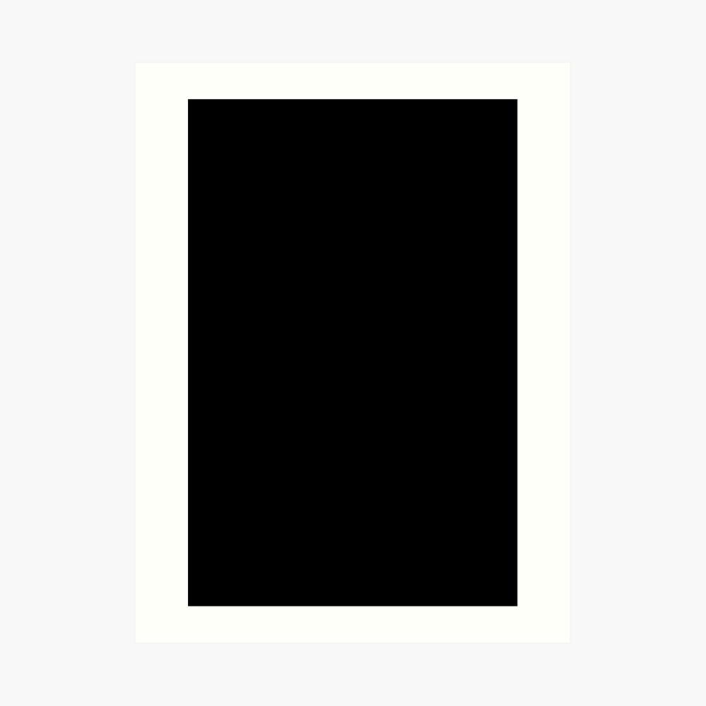 EINFACH SCHWARZ | FEST SCHWARZ | DUNKELSTES SCHWARZES | MONDLOSER HIMMEL | ACCENT SCHWARZ | HÖCHSTVERKAUF SCHWARZ Kunstdruck