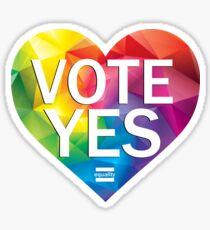 Australia Vote Yes Sticker