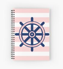 AFE Nautical Ship Wheel  Spiral Notebook