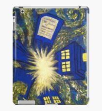 Exploding TARDIS iPad Case/Skin