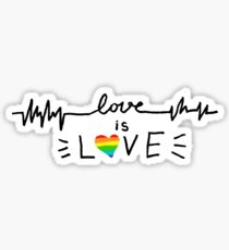 Love Is Love (Pride Flag) Sticker
