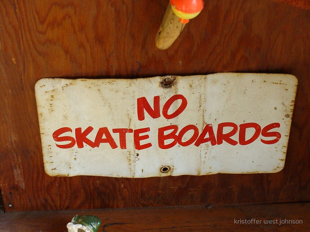 no skateboards by kristoffer west johnson