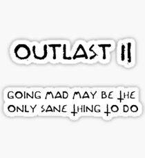 Outlast II Sticker