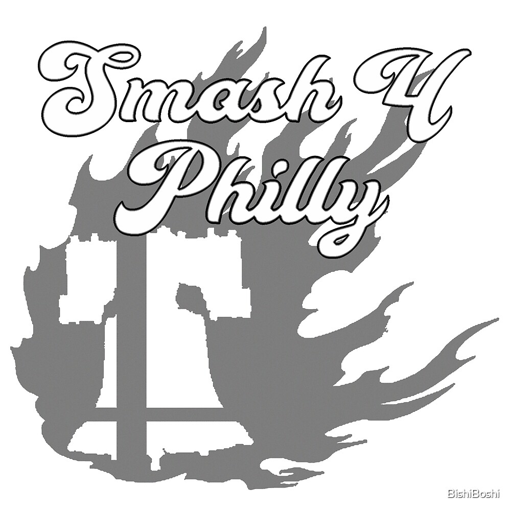 smash 4 philly by bishiboshi redbubble Bo Shi Gong Yu smash 4 philly by bishiboshi