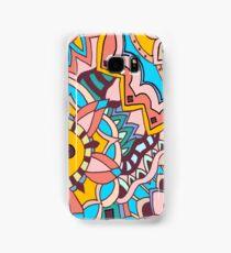Marrakesh Bazaar - Abstract Doodle Design Samsung Galaxy Case/Skin