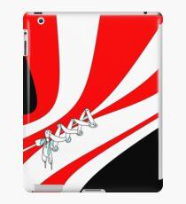Candy Stripe Laced Corset iPad Case/Skin