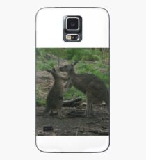 Kangaroos Kissing Case/Skin for Samsung Galaxy