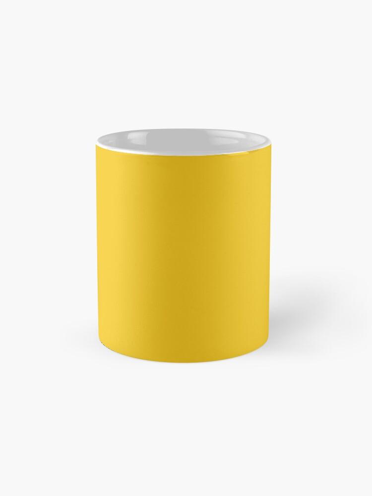 Alternative Ansicht von Tiefes Zitronengelb Tassen