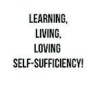 Self-Sufficiency Plain Text by Sheri Ann Richerson