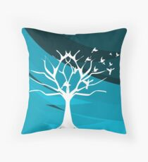 Lonely Forest Throw Pillow