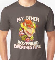 My Other Boyfriend Breathes Fire  Unisex T-Shirt