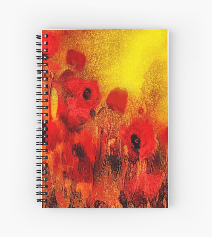 Poppy reverie  by Valerie Anne Kelly