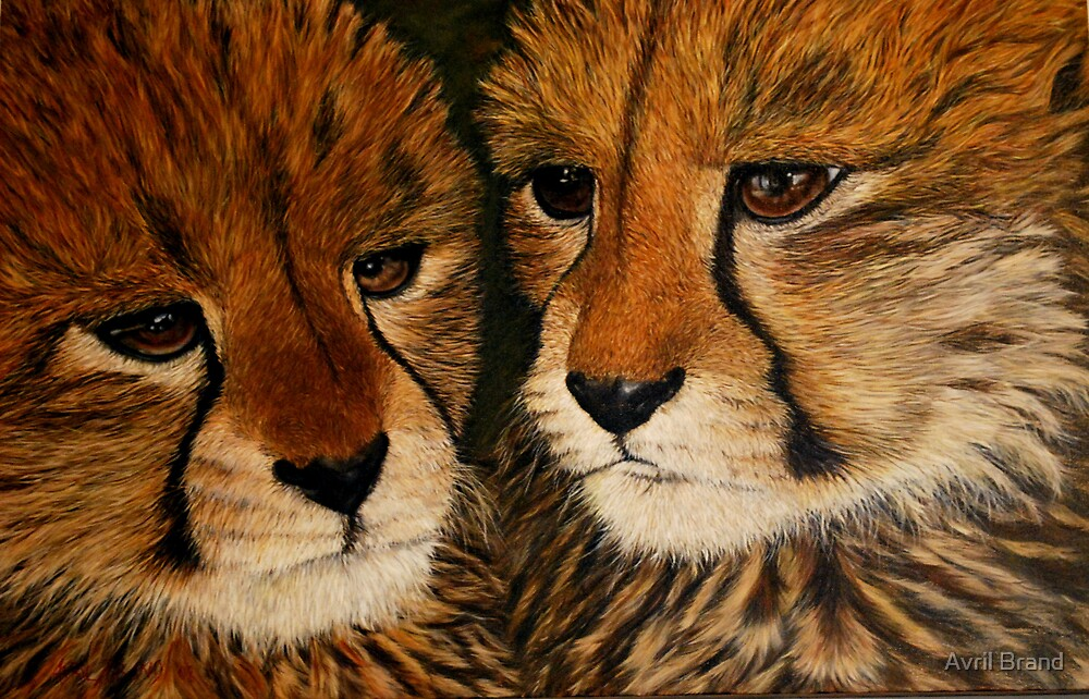 """""""Survivors"""" - Oil Painting by Avril Brand"""