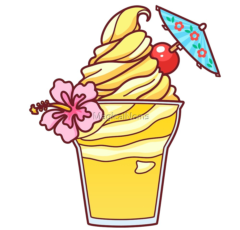 Floral Dole Whip by MagicalNoms