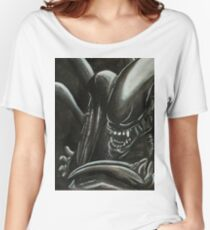 Alien Ink Fan Art Women's Relaxed Fit T-Shirt