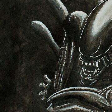 Alien Ink Fan Art by FontaineN