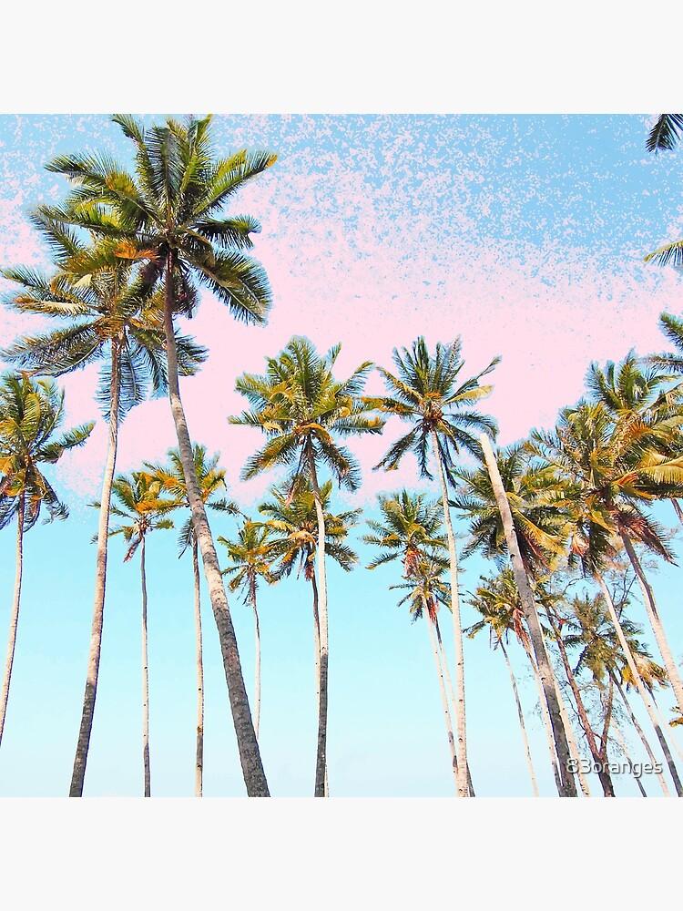 Coconut Palms #redbubble #decor #buyart by 83oranges