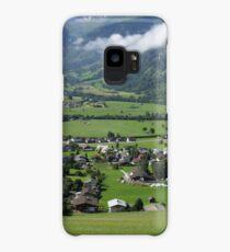 View Over Uttendorf, Salzburg Austria Case/Skin for Samsung Galaxy