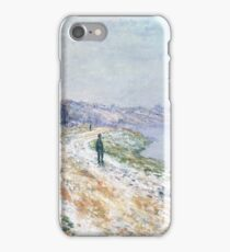 Tow-Path at Argenteuil 1875 Claude Monet iPhone Case/Skin