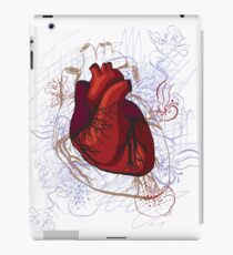 drawing of the heart, anatomical iPad-Hülle & Klebefolie