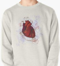 drawing of the heart, anatomical Pullover