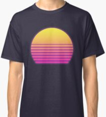 Synthwave Sun Classic T-Shirt