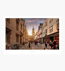 Oxford Photographic Print