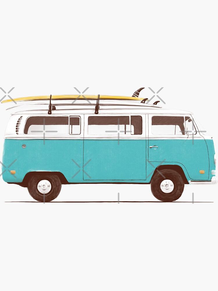 Blue Van de florentbodart