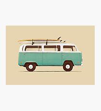 Blue Van Photographic Print