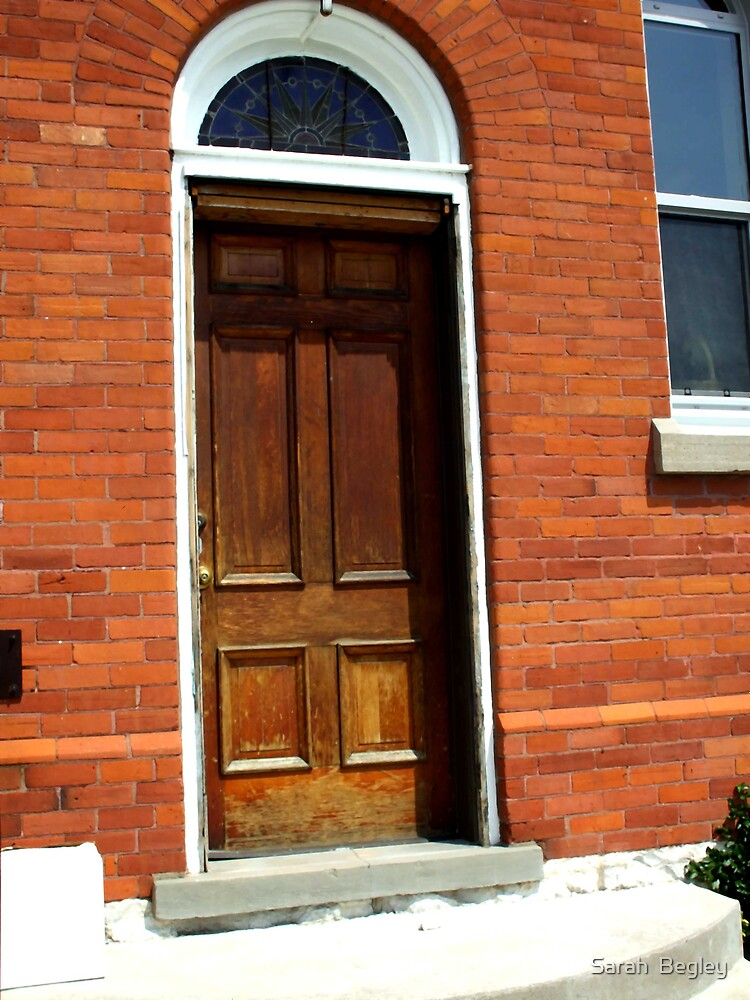 Church Door by Sarah  Begley