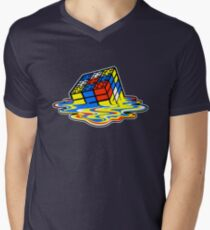 Building the Cube Men's V-Neck T-Shirt