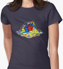 Building the Cube Women's Fitted T-Shirt
