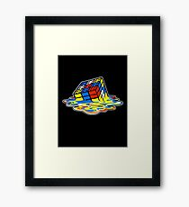Building the Cube Framed Print