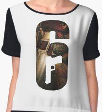 Rainbow Six Siege T-Shirt Women's Chiffon Top